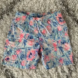 Boys Lilly Junior Capri Swim Trunk